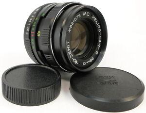 ⭐NEW⭐ MC HELIOS 44m-6 58mm f/2 USSR Lens M42 + Adapt. Fuji X-Mount FX Camera