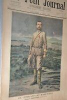 Le Petit journal Supplément illustré 4 juin 1899 / Le commandant Marchand