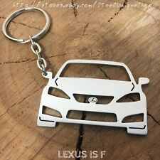 Lexus ISF Stainless Steel Keychain