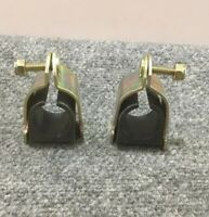 """Lot of 2 8500 Cush-A-Clamp, 1-1/8"""" OD, Clamp Clamps New"""