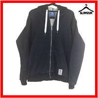 Adidas Hoody Mens M Medium Hoodie Blue Navy Hooded Sweatshirt Top