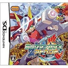 Rockman ZX Advent NINTEND DS NDS Import Japan Megaman