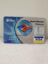 Collectable Bank Credit card  Bank Of America Visa 2007