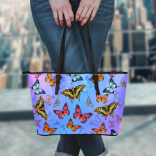 Large Premium Butterfly Tote Bag