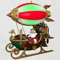 2018 Flight of Fancy Santa Claus Balloon HALLMARK KEEPSAKE CHRISTMAS ORNAMENT