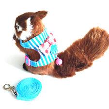 Fe- Ab_ Pet Leash Ferret Harness Guinea Pig Hamster Squirrel Rat Rabbit Traction