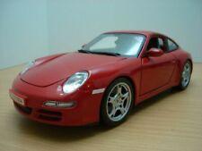 PORSCHE 911 - 997 CARRERA S rouge 1/18