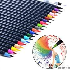 20 Colors Art Oil Watercolor Drawing Painting Brush Sketch Manga Pen Set Paint