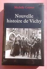 Nouvelle histoire de Vichy Michele Cointet Neuf