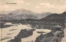 Rio Aconcagua Chile Scenic View Antique Postcard J47382