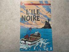 PUZZLE 4 TELECARTES NEUVES - TINTIN - L'ILE NOIRE - 500 exemplaires