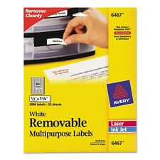 Avery Removable ID Labels - 6467