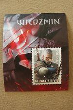 The Witcher 3: Wild Hunt - Stamp  Polish Exclusive - Wiedźmin znaczek