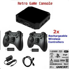 Retro Pandora Box type Video game Console Built in Classic Games Plug & Play