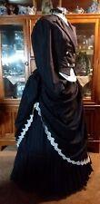 Victorian bustle Gown Dress Steampunk Goth Gothic