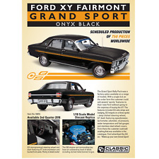 Classic Carlectables 1/18 Scale 18655 Ford XY Fairmont Grand Sport Onyx Black