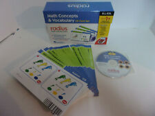 Learning Sources Radius Math Concepts & Vocabulary CD Card Set COMPLETE Homescho