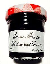15 x Bonne Maman Blackcurrant Jam 30g mini small jar portion tray