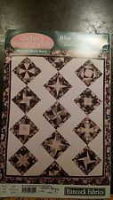 QUILTERS SAMPLER CLUB EIGHT POINT STAR BLOCK 4 QUILT PATTERN FREE SHIPPING