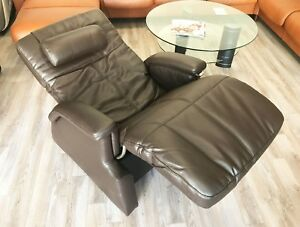 PC-085 POWER BONDED LEATHER ZERO GRAVITY PERFECT CHAIR TRANSITIONAL HUMAN TOUCH