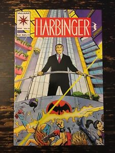 Harbinger #15 - 1st App. Of Live Wire (Valiant,1992) Free Combine Shipping