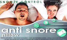 Controllo Snooze Anti Russare Ortopedico Cuscino Fibra Riempimento