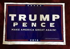 NEW Official Trump/Pence Campaign Lawn Sign 2016 (poly bag)