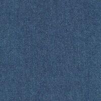"""Navy Blue Denim 100% Cotton Canvas 10 oz Fabric 58""""-60"""" Wide Premium - by yard"""