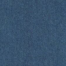 Navy Blue Denim 100% Cotton Canvas 10 oz Fabric 58