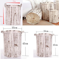 Large Free Standing Laundry Clothes Wash Hamper Basket Toy Storage Bin Cube