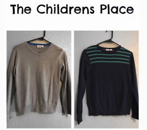 Lot of 2 Children's Place Boys Sweaters Size 10/12
