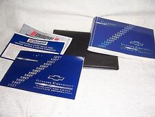 1997 CHEVY CAVALIER ORIGINAL OWNER'S MANUAL W/SUPPLEMENTS