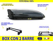 BARRE BAULE 320 LT FORD KUGA 5P 2008 /> 2012 BOX TETTO PORTAPACCHI BAGAGLI