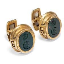 Manschettenknöpfe von Kieselstein Cord Heliotrop Gemmen Gold cufflinks Intaglios