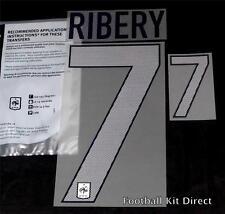 Francia RIBERY 7 EURO 2012 FOOTBALL SHIRT nome / numero del set di distanza