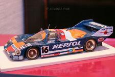 1:43 ULTRA RAR PORSCHE 962C N°16 BRUN MOTORSPORT REPSOL 24H MANS 1990 No Spark