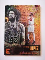 Panini Essentials 2017-18 card carte NBA Chicago Bulls #48 Robin Lopez