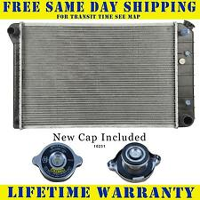 Radiator With Cap For Buick Fits Regal Lesabre Century V6 6Cyl V8 8Cyl 162WC