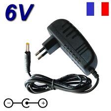 Adaptateur Secteur Chargeur 6V pour Récepteur Scanner Portatif ICOM IC-R20