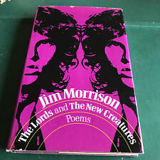 THE LORDS AND THE NEW CREATURES - FIRST EDITION BY JIM MORRISON