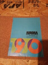 1970 Aurora Ho Scale Model Motoring Catalog, Full Color 14 Pages RARE