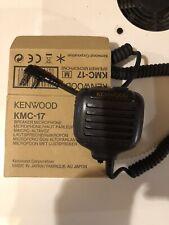 External Speaker Microphone For TK Series Two-Way Radios, Black