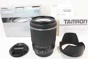 TAMRON High Magnification Zoom Lens 18-200 mm F 3.5-6.3 Di II VC for Canon