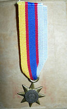 Mini -Anzac Gallipoli Star Medal two piece construction (original from R Smith)