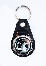 VAUXHALL FAUX LEATHER KEY RING/KEY FOB.
