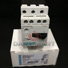 SIEMENS NEW 3RV1011-1HA15 MOTOR CIRCUIT BREAKER, MOTOR PROTECTION, 3 kW, NO + NC