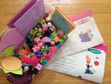 AQUARIA & FAIRYTOPIA Set ELLO CREATION SYSTEM Mattel GLITTER GIRL Building Toy