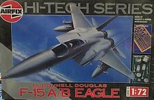 Airfix 1/72 McDonnell Douglas F-15 A/B Eagle Hi-Tech Model Kit W/ Metal Parts