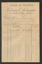 """PARIS (II°) LINGERIE pour DAMES & ENFANTS """"Edouard LOISEAU"""" en 1918"""