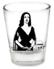 Vampira Plan 9 Shot Glass Goth Punk Edward D. Wood